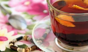 Նարնջով թեյ