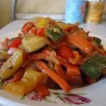 Տապակած բանջարեղեն